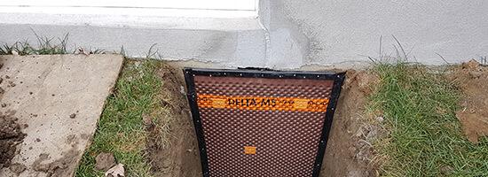 Réparation fissure béton